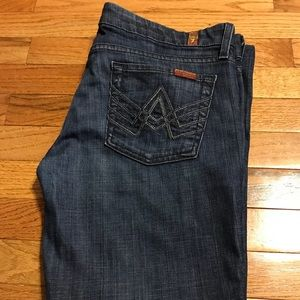 """7 For All Mankind """"A"""" Pocket Jeans Size: 30"""